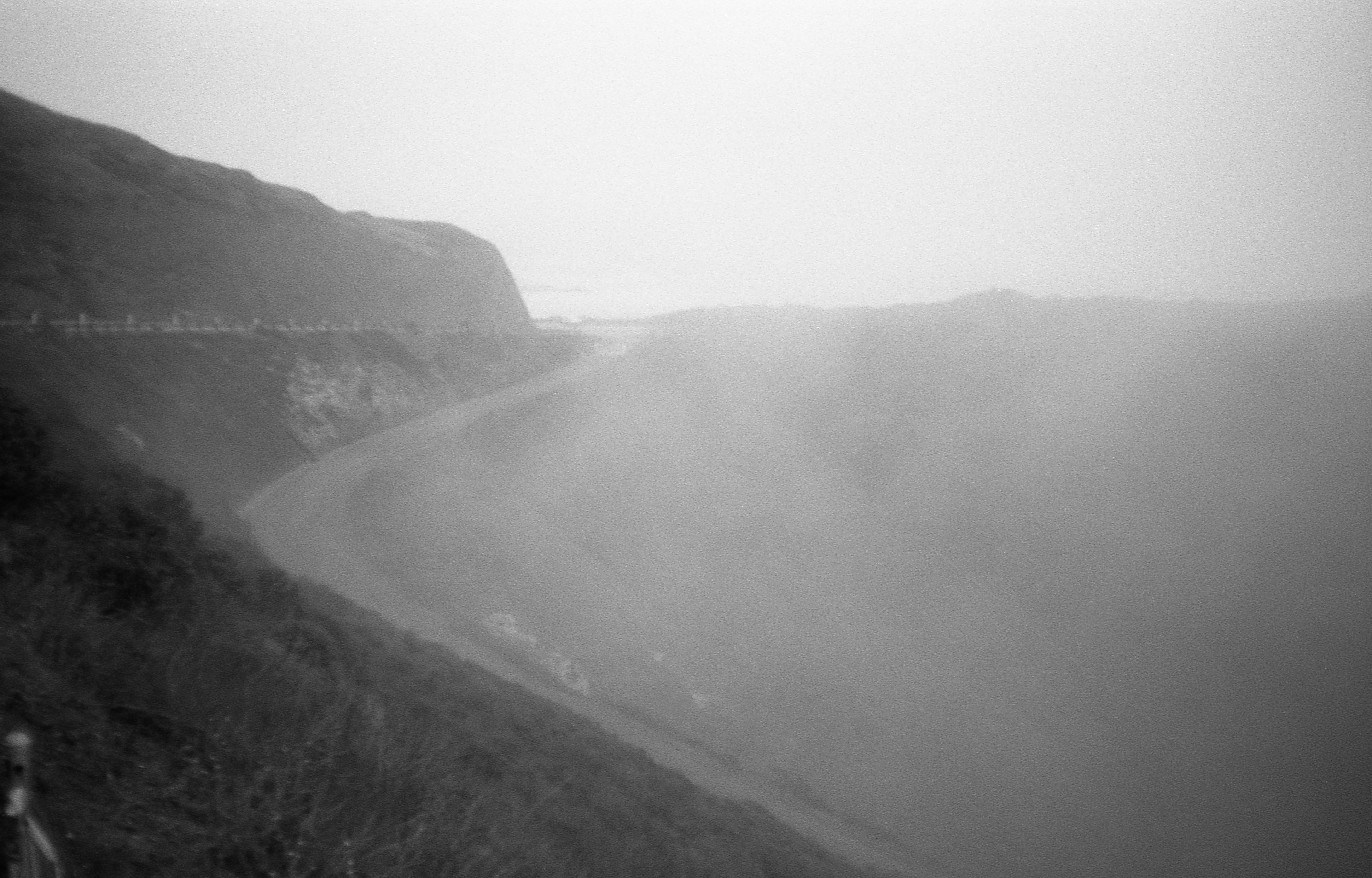 Kirby Cove Trail, Olympus XA